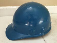Fibre Metal SuperLectric Construction Hard Hat Skullgard 1971 ANSI Cert Blue USA