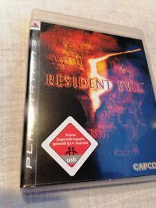 Resident Evil 5 - Sony PlayStation 3,PS3-komplett-USK 18