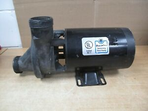 MagneTek Century Pool Tub Motor 1081 Pump Duty 1 HP RPM 3450 Premier 320-10