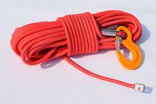 "Red 1/2""*100ft Double Braided UHMWPE Rope,Synthetic Rope,ATV Winch Cable Autos"
