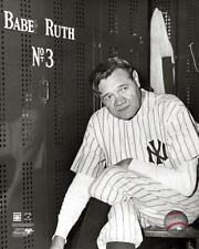 "BABE RUTH ""Farewell Game / Locker Room"" New York Yankees LICENSED 8x10 photo"