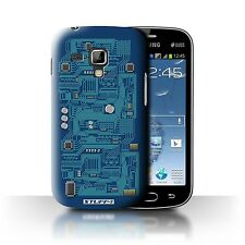 STUFF4 Back Case/Cover/Skin for Samsung Galaxy S Duos 2/S7582/Circuit Board