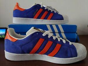 Adidas Originals Superstar Mens East River Rivalry Trainers - UK 11, EU 46 New!
