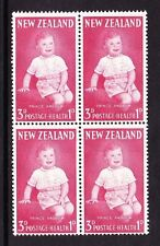 NEW ZEALAND 1963 3d + 1d WITH 'BLOODSTAINED FINGER' SG 816a MNH.