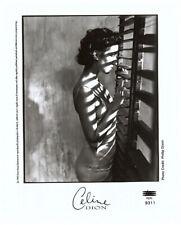 Celine Dion Striking Vintage Moody Portrait rare Original Record Promo Photo