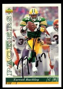 Terrell Buckley #313 signed autograph auto 1993 Upper Deck Football Trading Card