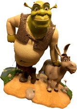 ATTAKUS, SHREK AND DONKEY STATUE,  10 INCH STATUE LIMITED EDITION Dreamworks