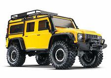 Traxxas Trx-4 Land Rover Defender 110 Ltd Edition Yellow RC Scale Crawler