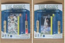 New listing THE ASHES-Signed Mini Bat Player Card, Australian Cricket,PONTING,KATICH, WATSON