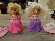 Vintage Tonka Cupcakes Dolls Sugar & Shine 1990s Lot of 2