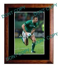 TOMMY BOWE IRELAND 2011 RUGBY WORLD CUP A3 PHOTO 2