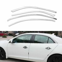 Full Windows Molding Trim Decoration Strips Pillar For Chevrolet Malibu 2013-15