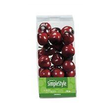 Floracraft Simplestyle 25-piece Mini Decorative Fruit, Cherry - Design Simple