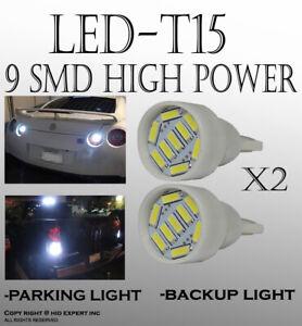 2x pairs Super White T15 168 920 921 LED Wedge High Power Bright Light Bulbs V31