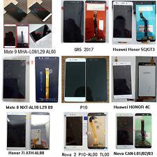 Original For Huawei P8 P9 P10 Lite Mate 8 9 Nova 2 Plus LCD Display Touch Screen