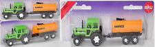 Siku Super 1515 DEUTZ-FAHR (DX) AgroStar 6.31 Traktor mit Faßwagen, ca. 1:68