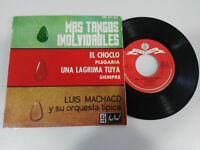 "Luis Machaco mas Tangos Unvergessliche Single 7 "" vinyl 1962 Spanisch Edition"