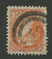 """CANADA #41 USED SMALL QUEEN 2-RING NUMERAL CANCEL """"40"""" VF (.05)"""