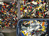 Lego 1-99 Pounds LBS Legos Pieces HUGE BULK LOT bricks building blocks w/Minifig