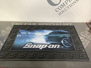 SNAP ON TOOLS FLOOR MAT HEAVY DUTY RUBBER FORD MUSTANG LIMITED EDITION