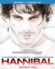 Hannibal: Season Two (Blu-ray Disc, 2014, 3-Disc Set) LIKE NEW