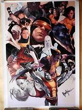 X-MEN lithographe Marko Djurdjevic panini 2008 Limited, signed # 58/99