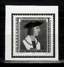Photo Essay, Liechtenstein Sc747 Emperor Maximilian I (1459-1519).