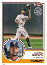 2018 Topps Series 1 1983 #/49 5x7 #83-77 Byron Buxton - Minnesota Twins