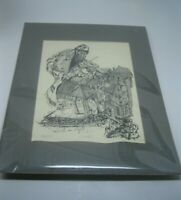 Gigantor Limited Edition Art Print Signed RARE!