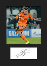 GARETH BALE #2 Signed Photo Print A5 Mounted Photo Print - FREE DELIVERY