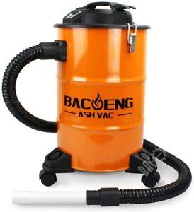 Metal Ash Vacuum Cleaner Home or Bbq Cleaning Hoover Wood Fire Debris Soot Best