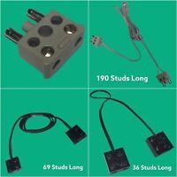 Lego Kabel Stromkabel 9V 9Volt Technic Eisenbahn Mindstorms Weltraum Basic #3