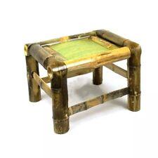 bamboo stool Natural 100% handmade kids adult rest fishing, vase base art 手工竹凳