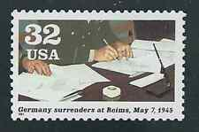 Scott # 2981-f...32 Cent...WW II...Germany Surrenders...5 Stamps...MNH
