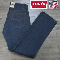 NEW VINTAGE LEVI'S 501 RED TAB SHRINK TO FIT INDIGO DENIM JEANS USA 30x30