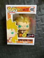Funko POP! Dragon Ball Z Super Saiyan 3 Goku GITD Exclusive #492