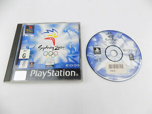 Mint Disc Playstation 1 Ps1 Sydney 2000 Olympic Games AUS PAL Free Postage