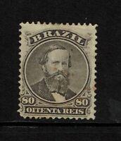 Brazil SC# 57, Mint No Gum, Hinge/Page Remnants - S8448