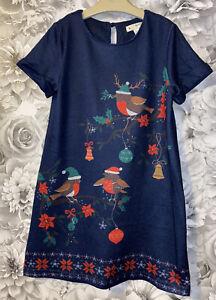 Girls Age 7-8 Years - Yumi Girl Beautiful Christmas Dress