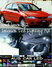 Ford Laser KJ2 & similar White Interior Led Light upgrade Kit dome+map+boot