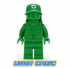 LEGO Minifigures - Green Army Soldier Medic - Toy Story Disney toy002 FREE POST