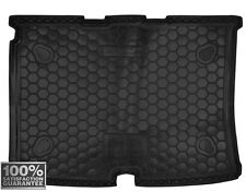 Car Boot Cargo Trunk Rubber Mat Liner Tray for Fiat Fiorino Qubo 5 seats 2008-