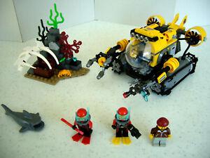 LOT LEGO CITY 60092  /  SOUS-MARIN DES GRANDES PROFONDEURS