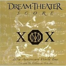 DREAM THEATER - Score: 20th Anniversary World Tour Live (3-CD)  AUSTRALIA Import