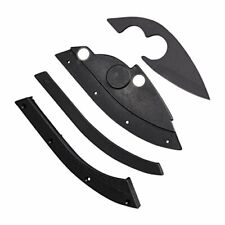 Strong Carbon Steel Knife Outdoor Headwear for Hat - Easy to Install