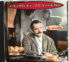 "GEORGES BRASSENS - CD ""LE GORILLE"" - COLLECTION ""SPECTRUM"""