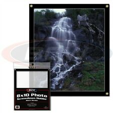 8 x 10 inch CARD DISPLAY FRAME SCREWDOWN - WALL MOUNTABLE X 2