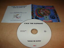 CAGE THE ELEPHANT - SHAKE ME DOWN!!!!!FRENCH DJ PROMO CD