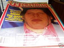 Pro Wrestling Illustrated May 1988 Andre The Giant