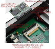 512 MB DOC MICRO FESTPLATTE HDD FSC FUTRO S200 S300 S400 IGEL 4210LX 564LX -13